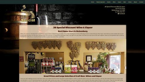 Featured Website for 38 Special Discount Liqour